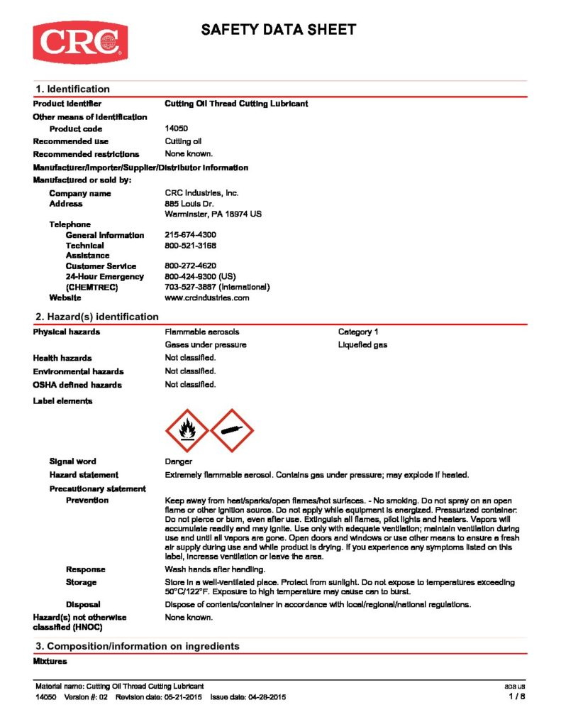 Fantastic Chemtron Wire Rope Lubricant Spray Ensign - Wiring Diagram ...